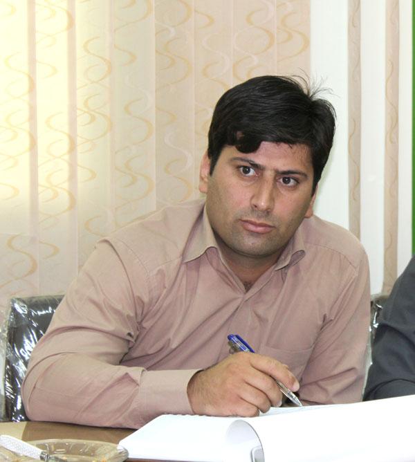 روح الله زال پور رییس اداره حفاظت محیط زیست اسدآباد